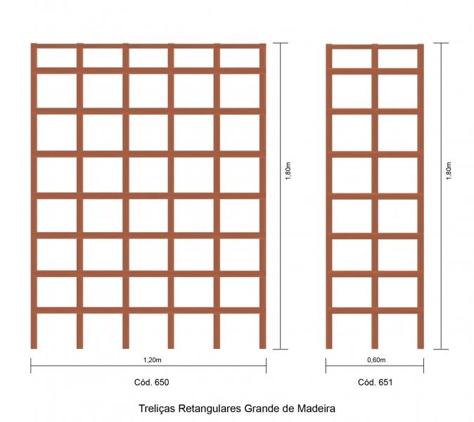 trelica bambu jardim : trelica bambu jardim:ACESSÓRIOS EM MADEIRA / TRELIÇAS / TRELIÇA DE MADEIRA RETANGULAR